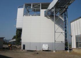 montovaná ocelová hala UNITED ENERGY, a.s., Věže v Mostě