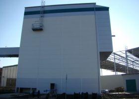 UNITED ENERGY, a.s., Věže, montované haly