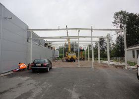 Přístavba průmyslové výrobní haly EXPROVER spol. s r.o. v Černé Hoře II