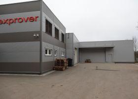 Přístavba průmyslové výrobní haly EXPROVER spol. s r.o. v Černé Hoře I