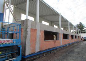 Skladovací betonová hala Martin Naděje v Čáslavi II