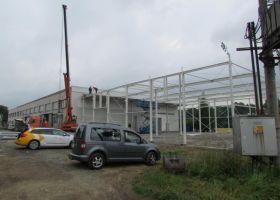 konstrukce montované výrobní haly RALCO