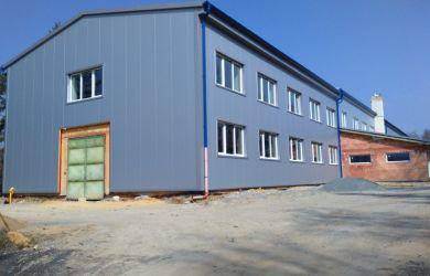 Opláštění výrobní haly v Kunštátu pro společnost METAL - PROFI s.r.o.