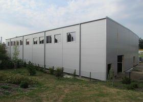 montovaná sportovní hala v Soběslavi I
