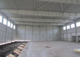 montovaná sportovní hala v Soběslavi II