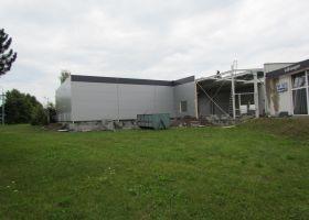 Skladová montovaná hala  ESAS ve Valašském Meziříčí I