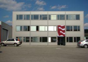 skladové montované haly s administrativní budovou D.TRI spol. s r.o. v Kuřimi