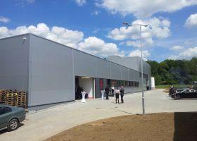 novostavba výrobní haly ve Světlé nad Sázavou