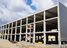 betonové haly Brno