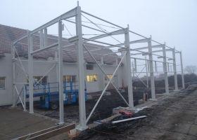 konstrukce výrobní montovane haly v Rousínově, Jan Šmerda