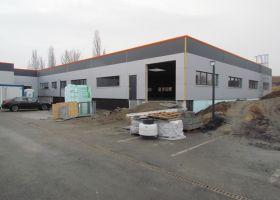 skladová montovaná hala ve Slaném