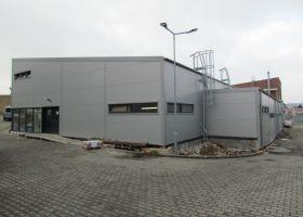 Výrobní hala s administrativní budovou Bohemia Machine, s.r.o.