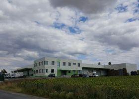 Skladová hala vč. administrativní budovy ve Slaném